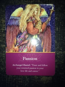 Angel Card Passion