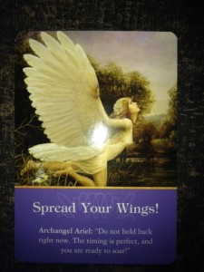 free angel card reading august 2015