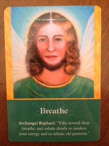Breathe Angel Card