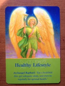 Healthy Lifestyle Angel Card