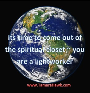 you are a lightworker
