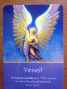 angel card reading july 2015