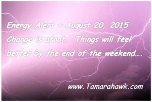 Energy Alert August 20 2015