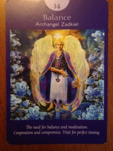 angel card tarot reading