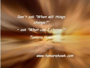 how do i change my life